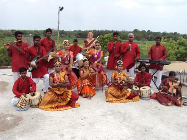 Muziekband uit Alankupam en omgeving - Stichting Isai Ma(i)yam