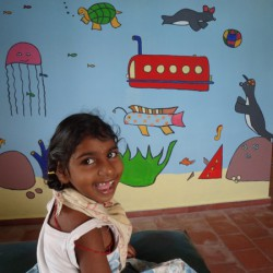 Vela in de rustkamer, Kinderen in India