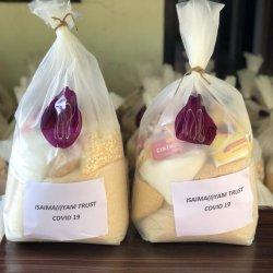 Isai Ma(i)yam 800 voedselpakketten